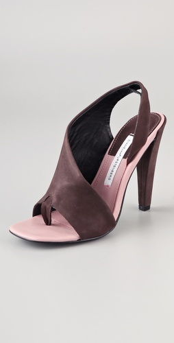 Diane von Furstenberg Morocco Asymmetrical Sandals