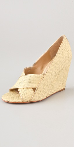 Diane von Furstenberg Tafari Wedge Sandals
