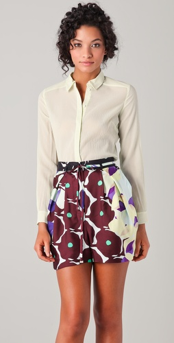 Diane von Furstenberg Janice Blouse