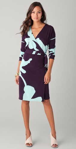 Diane von Furstenberg Kinaya Wrap Dress