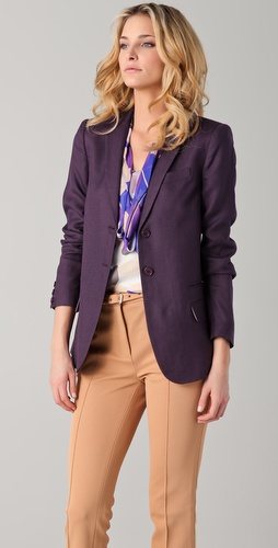 Diane von Furstenberg Plaxico Blazer