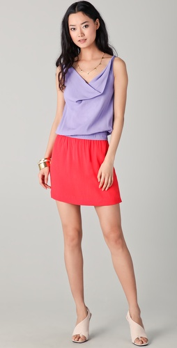 Diane von Furstenberg Lou Colorblock Dress