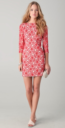 Diane von Furstenberg Sarita Lace Dress | SHOPBOP