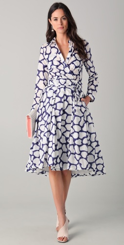 Diane von Furstenberg Raven Dress
