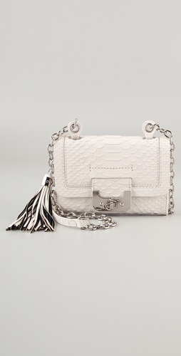 Diane von Furstenberg Mini Harper Python Bag