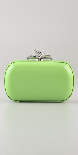 Diane von Furstenberg Lytton Small Patent Leather Clutch
