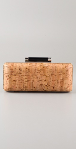 Diane von Furstenberg Tonda Cork Clutch