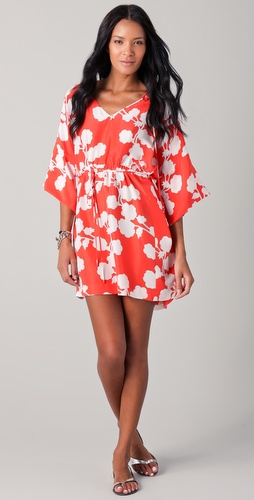 Diane von Furstenberg Iniko Beach Cover Up Dress