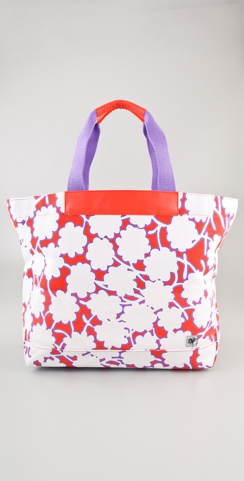 Diane von Furstenberg Vintage Collection Large Beach Tote