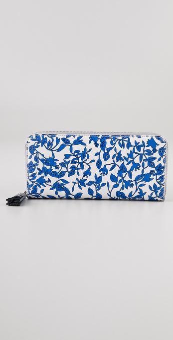 Diane von Furstenberg Vintage Collection Zip Around Wallet