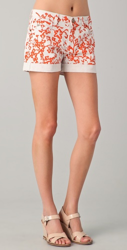 Diane von Furstenberg DVF Loves Current / Elliott Classic Rolled Shorts