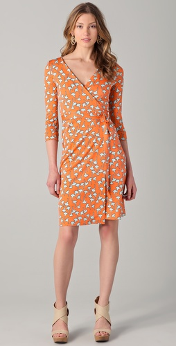 Dvf Wrap Dress New Julian Wrap Dress