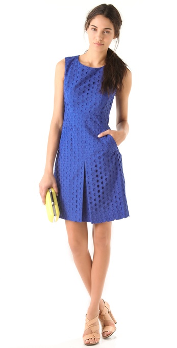 Diane von Furstenberg Carpreena Ring Stitch Dress