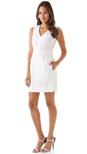 Diane von Furstenberg Fumi Burst Lace Dress
