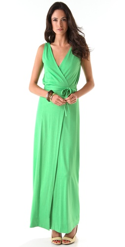 Diane von Furstenberg Yazhi Straight Long Dress