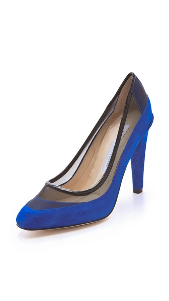Diane von Furstenberg Darlena Mesh Pumps
