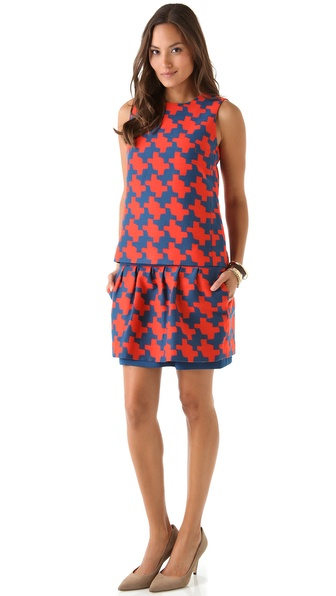 Diane von Furstenberg Veronica Dress with Removable Shell