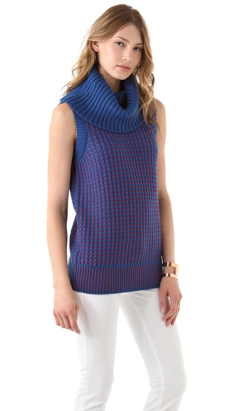 Diane von Furstenberg Bede Sleeveless Sweater