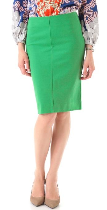 Diane von Furstenberg Esme Pencil Skirt