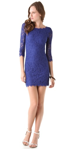 Diane von Furstenberg New Zarita Lace Dress