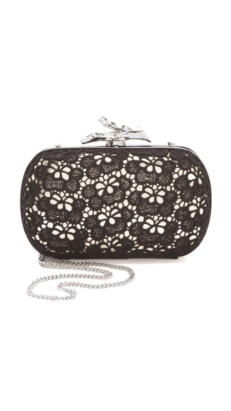 Diane von Furstenberg Lytton Lace Clutch