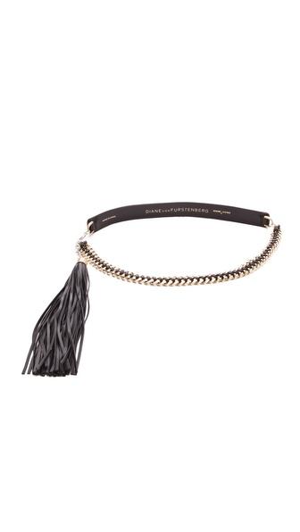 Diane von Furstenberg Tahra Chain Belt