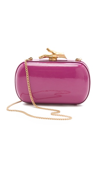 Diane von Furstenberg Lytton Patent Clutch