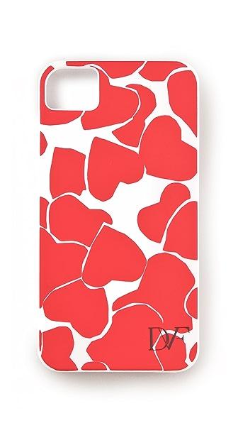 Diane von Furstenberg Hearts iPhone Case