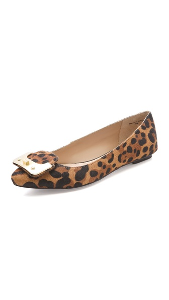 Diane von Furstenberg Madison Haircalf Flats