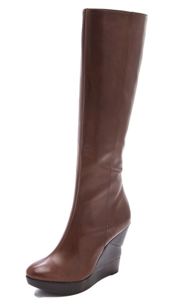 Diane von Furstenberg Orion Wedge Boots
