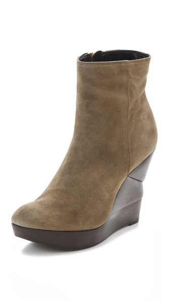 Diane von Furstenberg Opalista Suede Booties