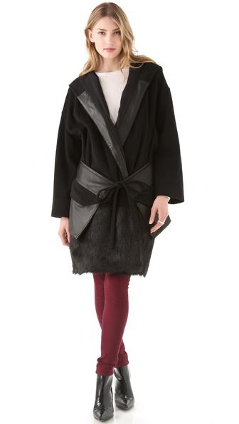 Diane von Furstenberg Nadine Luxe Coat