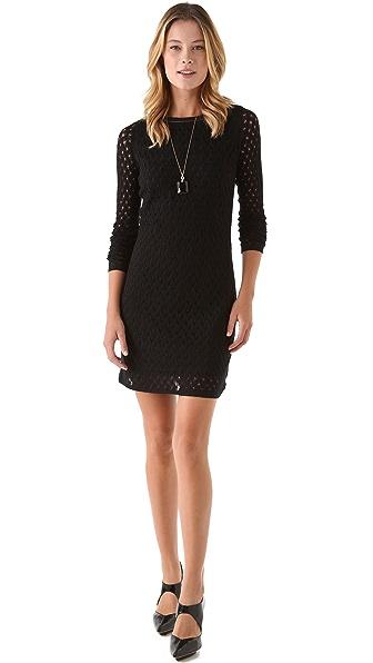Diane von Furstenberg Kivel Ladder Lace Dress