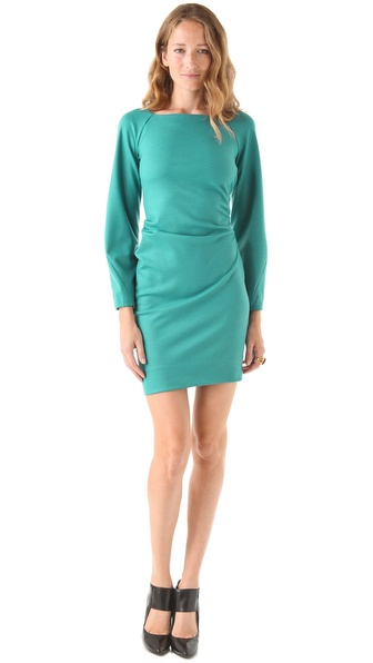 Diane von Furstenberg Hannah Wide Sleeve Dress