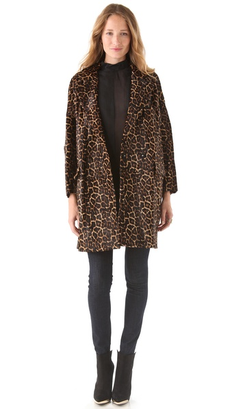 Diane von Furstenberg Baril Haircalf Jacket