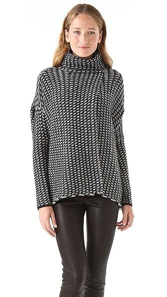 Diane von Furstenberg Ahiga Wrap Sweater