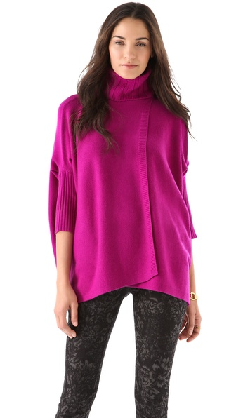 Diane von Furstenberg Ahiga Wrap Sweater