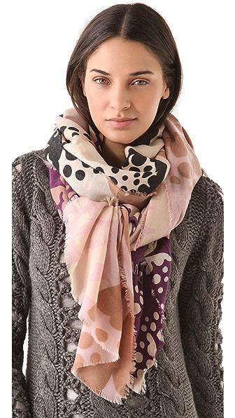 Diane von Furstenberg Heavy Wool Scarf