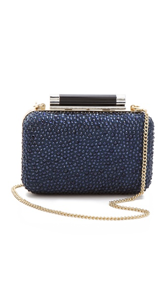 Diane von Furstenberg Tonda Small Crystal Clutch