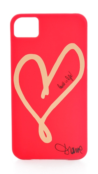 Diane von Furstenberg Hearts iPhone 4 Case