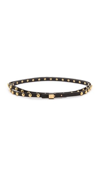 Diane von Furstenberg Haley Studded Wrap Belt