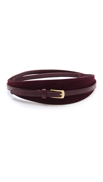 Diane von Furstenberg Connor Suede Belt