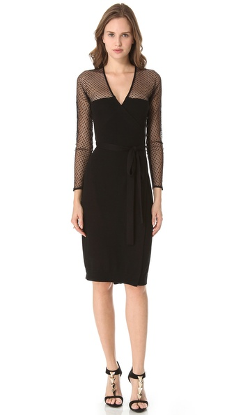 Diane von Furstenberg Zalda Bis Lace Dress