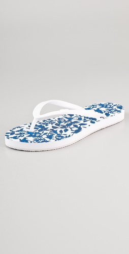 Diane von Furstenberg Tairona Leaf Flip Flops