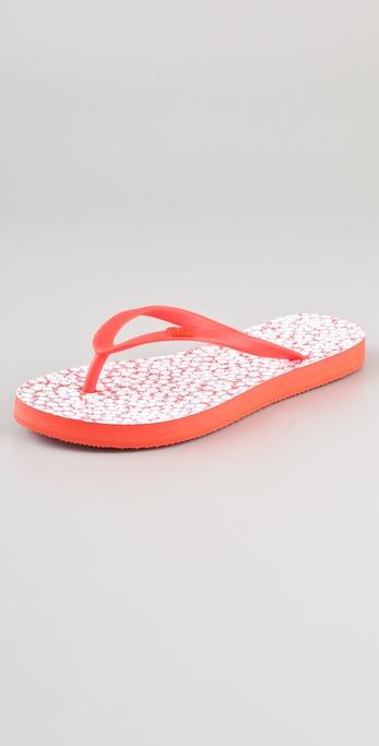 Diane von Furstenberg Tairona Buds Flip Flops