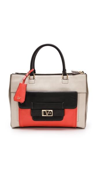 Diane von Furstenberg Eva Colorblock Bag