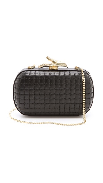 Diane von Furstenberg Lytton Quilted Clutch