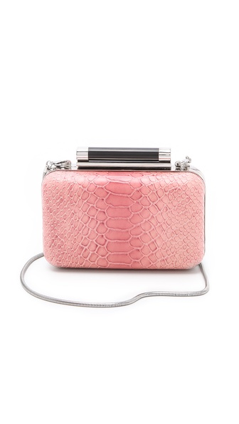 Diane von Furstenberg Tonda Small Ombre Python Clutch