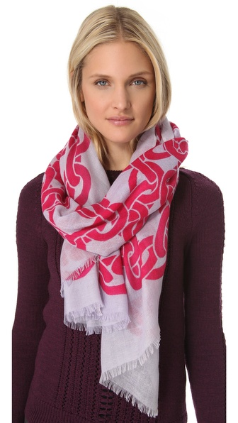 Diane von Furstenberg Kenley Cashmere Scarf