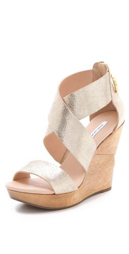 Diane von Furstenberg Opal Wedge Sandals at Shopbop / East Dane